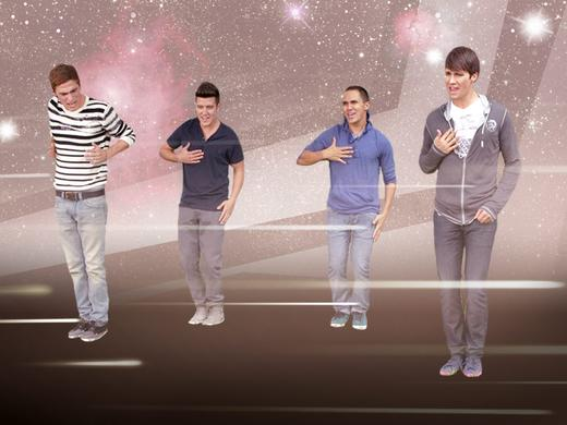 BTR Dance Moves Do The Robot 3