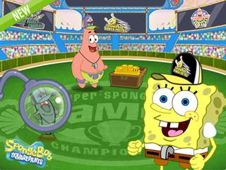 SpongeBob SquarePants: The Super Spongy Square Games Game