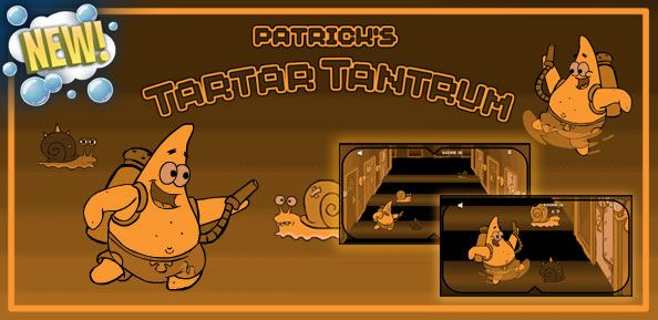 SpongeBob SquarePants Patricks Tartar Tantrum