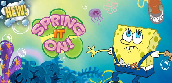 SpongeBob SquarePants Spring It On