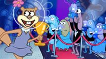 Spongebob squarepants showtime squirrel