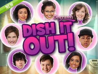 Degrassi: Dish It Out! Game