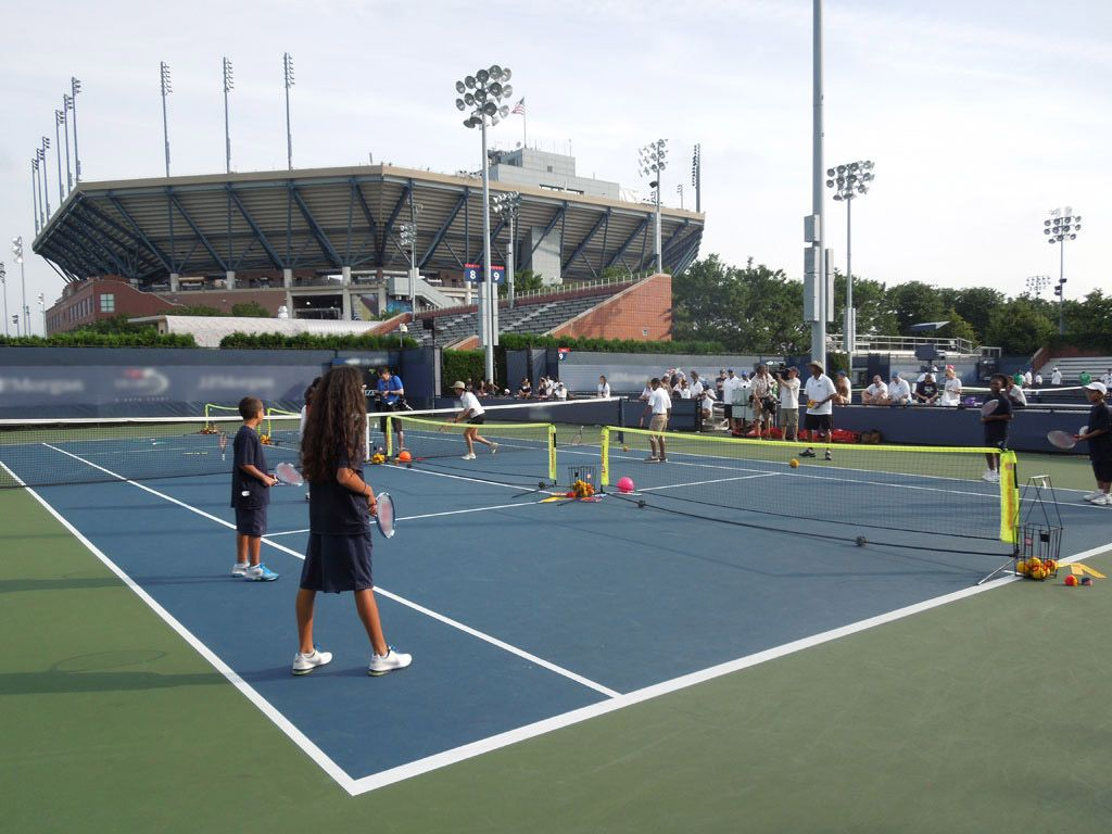 Tennis Time!| Kids gathered from all over to play tennis on Arthur Ashe Kids' Day in New York City!