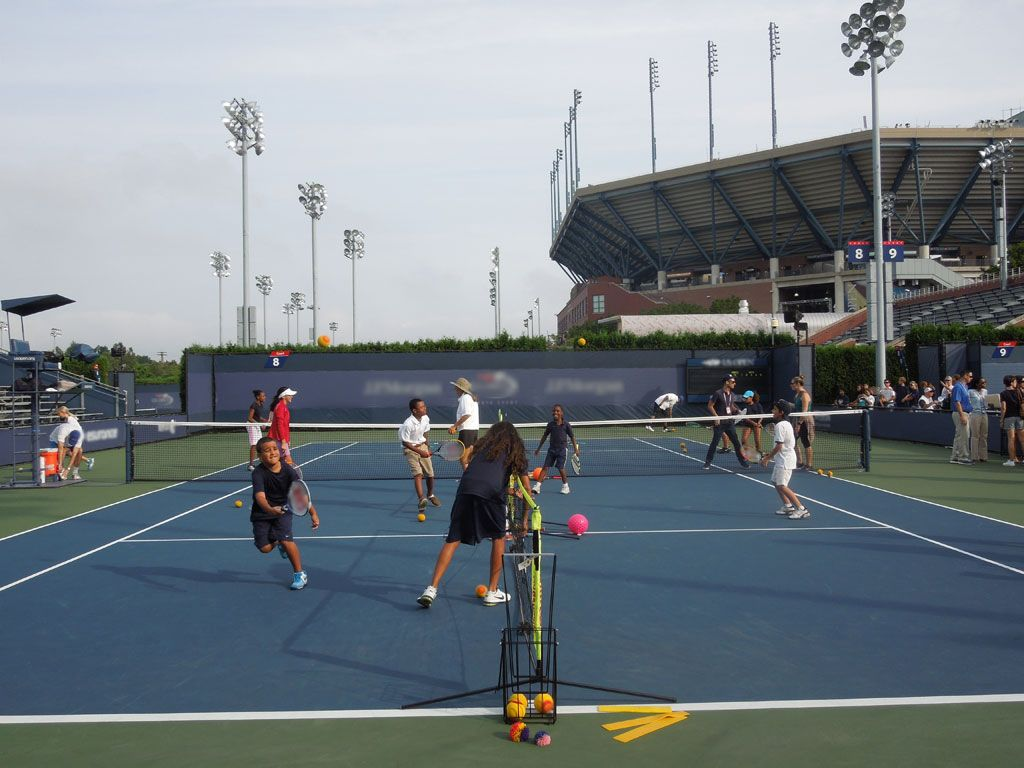 Tennis Tradition|Arthur Ashe Kids' Day has kicked off the US Open every year since 1993! And this one looks like it was the best yet.