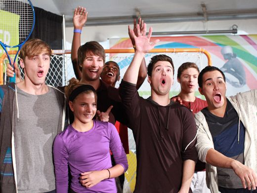 Shout Out|Hip hip, Hooray! We're all ready to play! Big Time Rush is in the game. Are you?