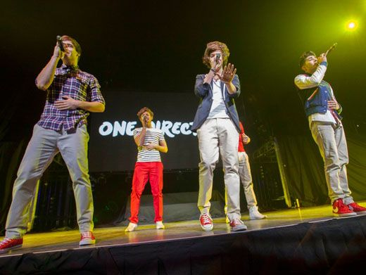 1D in Tennessee!|The boys of One Direction bring a new accent to the southern stage!