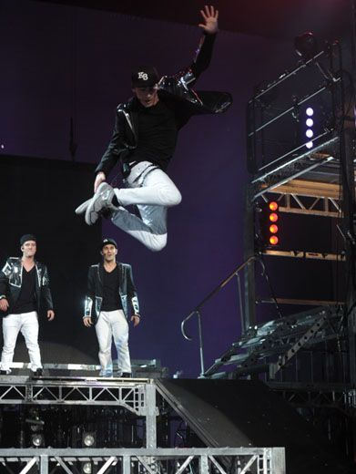 Jumpin' James|The BTR boys are ready to jump back into action in New York City!!