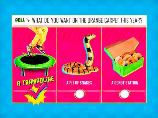 KCA Poll Reveal Orange Carpet 2