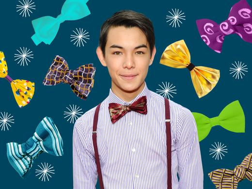 Fashion Friday Ryan Potter Bow-Tie 1