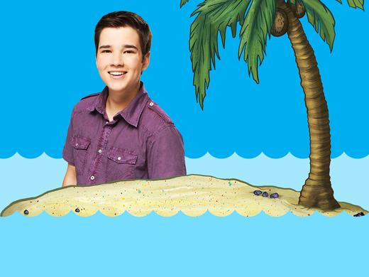 Nathan Trapped On A Desert Island 1