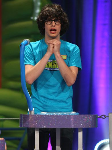 Brainy Bennett|Matt Bennett may look stumped, but he's got all the right answers!