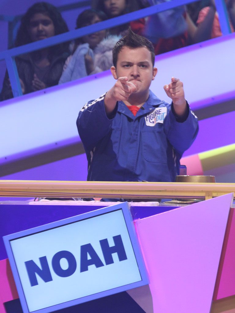 Woah Noah!|Watch out! iCarly's Noah Munck is ditching shirtless Gibby to layer up and get down to business.