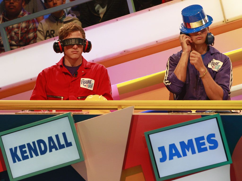 Creative Accessorizing|Kendall and James are having fun with their hats and ear muffs. Let us in on that action!