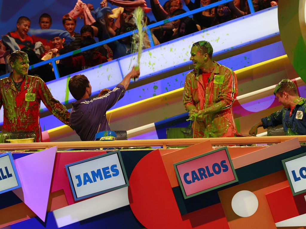 Slime for All|The audiences gets in on some slime action courtesy of BTR's own James Maslow!