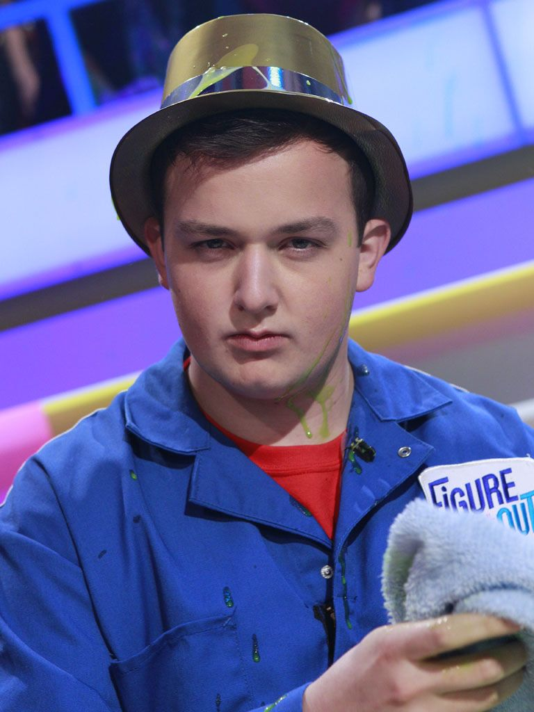 Serious Stare!|Noah Munck is psychically telling you to watch some slime action!