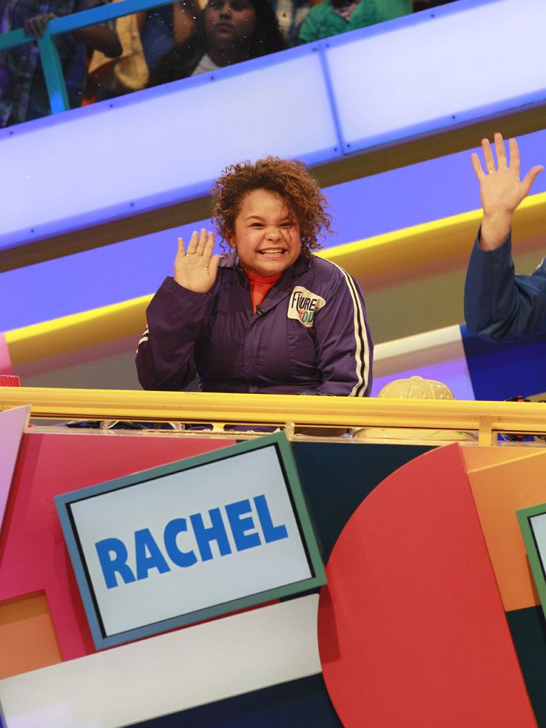 Isn't She Lovely?|Rachel Crow waves to the audience as she gets ready to Figure It Out!