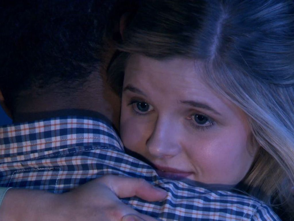 Aww!|Don't worry Alfie, Amber is sad too! You guys can make it work no matter the distance!