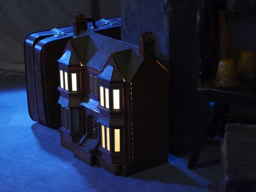 Home Sweet Home|Amber finds a dollhouse that looks exactly like the Anubis House in the attic. Talk about spooky!