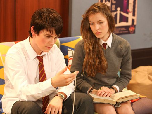 Study Buddies|From the beginning Nina and Fabian have been totally inseparable!