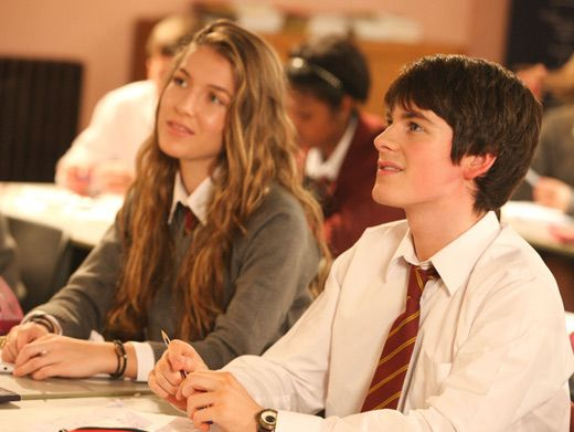 Homeroom Honeys|Fabian may look like he's paying attention to the lesson but we know he's daydreaming about Nina.