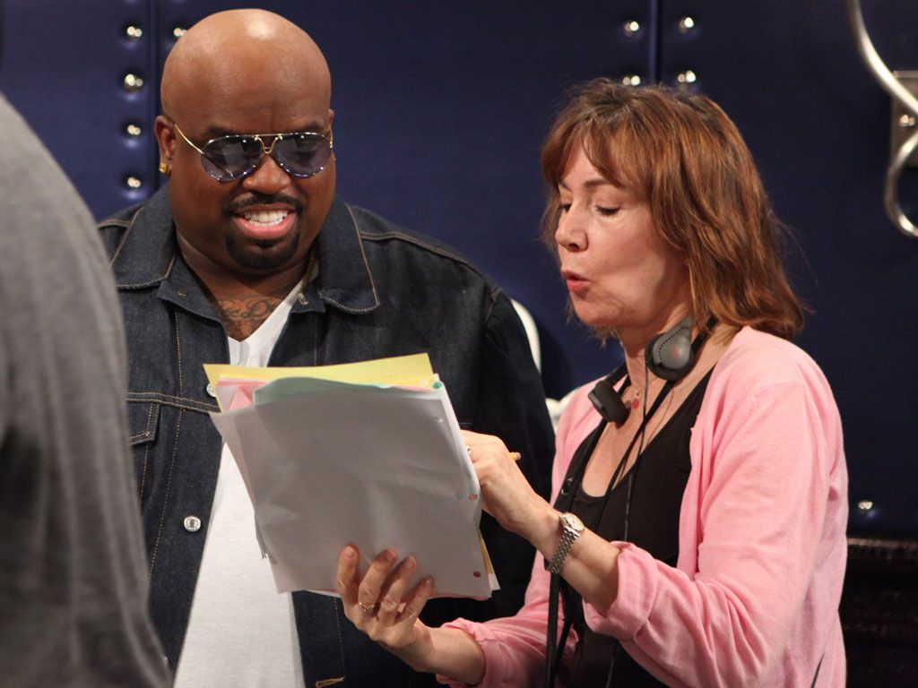 Practice Makes Perfect|Even a superstar like Cee Lo Green has to review material before rocking out that stage!