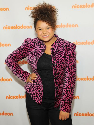 Looking Fierce|We love Rachel Crow's spunky personality...And her pink cheetah vest! RAWR!