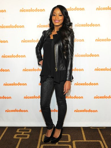 Fashion Princess|Rags star Keke Palmer also made an Orange Carpet appearance, and like always, she was looking like a True VIP!