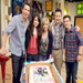 Having a Cast Blast!|Working on the set of iCarly is a piece of cake when your with this fun family crew. Just ask Miranda!