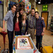 Group Hug|The whole iCarly crew, including show creator Dan Schneider, brought it in for one big birthday bear hug.