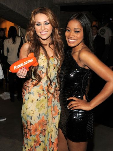 KCA Queen|We can't even count how many blimps Miley Cyrus has won now. It's just way too many!