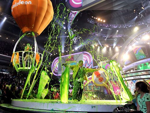 It's A Slime Circus!|This slime-y finale was an absolute circus, and Jack Black was in the center of the ring!