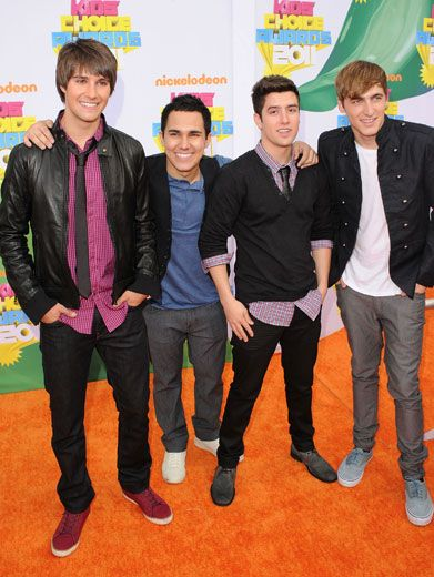 Big Time Boys|The boys of Big Time Rush never fail to look absolutely adorable while walking the Orange Carpet.