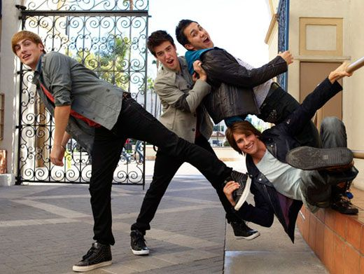 Big Time Jokers|The boys of BTR can never stop clowning around!