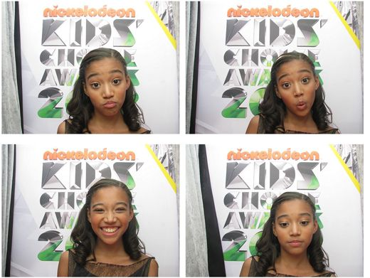 KCA 2012: Amandla Stenberg|Pucker up! This Hunger Games star is way too cute :)