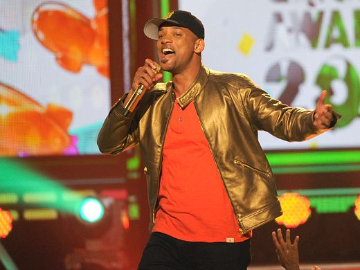 KCA 2012: Go For Gold|Will Smith is dressed to impress, and 'impress' is exactly what he did.