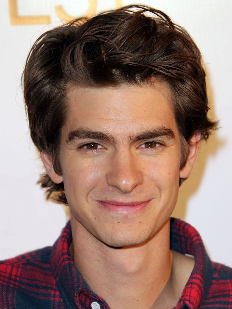Andrew Garfield!|He may have played the web-slinging Peter Parker in The Amazing Spiderman movie, but even super-actors have fave superheroes too. Andrew's is none other than Spiderman -- go figure!