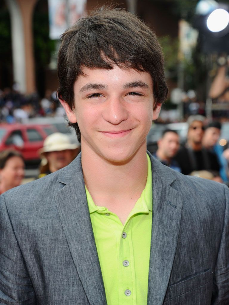 Zachary Gordon!|We sure hope not! Though it would be pretty funny. And yes, definitely very wimpy.