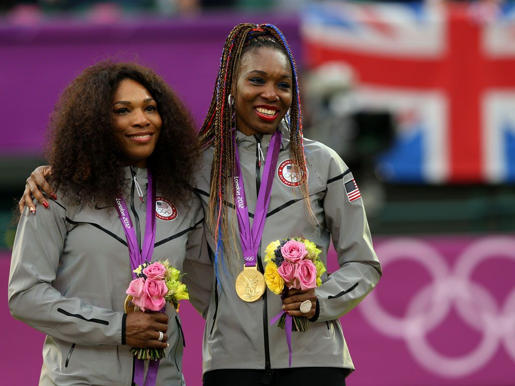 Awesome Two-some|Venus and Serena Williams have dreamed of playing tennis since they were little girls, and now, they're big time champions! Yep, it was definitely love at first tennis racket :)