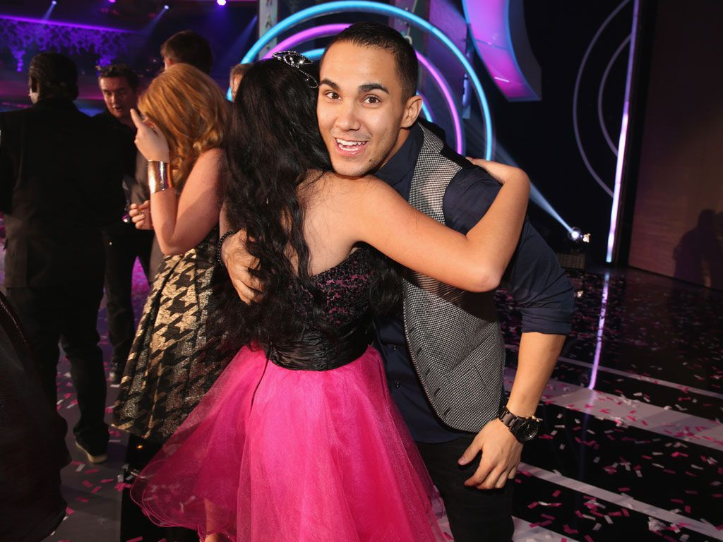 Cuddly Carlos|This BTR frontman loves showing love to his dedicated fans, and yes, that includes bear hugs! Will the blimp for Favorite TV Actor have his name written all over it come award time?