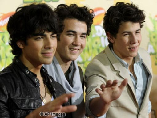 The Jonas Brothers|The Jonas Brothers appear to be anything but