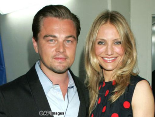 Leonardo DiCaprio & Cameron Diaz|The winner & presenter of the very first Big Green Help green blimp.