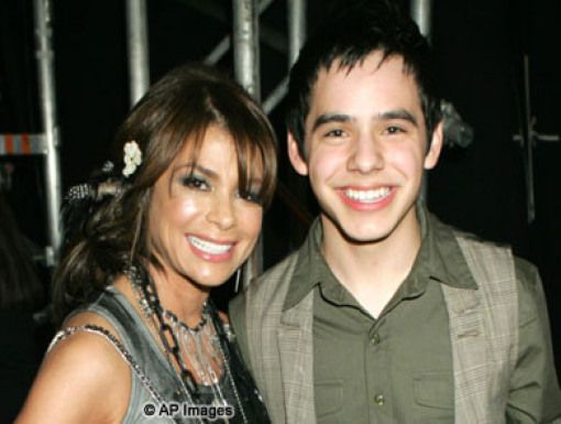 Paula Abdul & David Archuleta|
