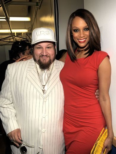 Stephen Glickman & Tyra Banks|He plays Gustavo Rocque on Big Time Rush, she's the star of The Tyra Banks Show!