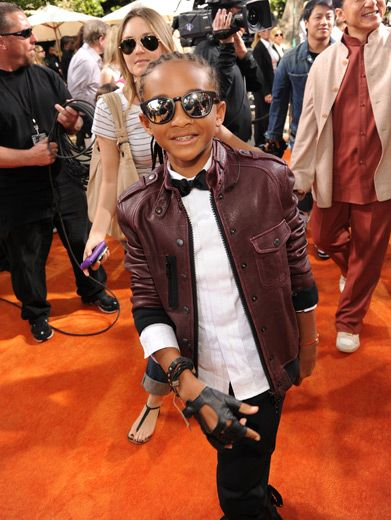 Jaden Smith|This kung-fu kid's got style beyond his years. But is it Big Willie style? Or did he get that mojo from his mom?