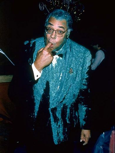 A New Galaxy|The force of slime was too great for Darth Vader (James Earl Jones) at the '94 KCAs.