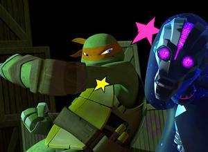 Dang! | Ooooh that rude robot just got <i>smaaacked</i>!
