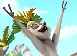 King Julien Picture, Penguins of Madagascar