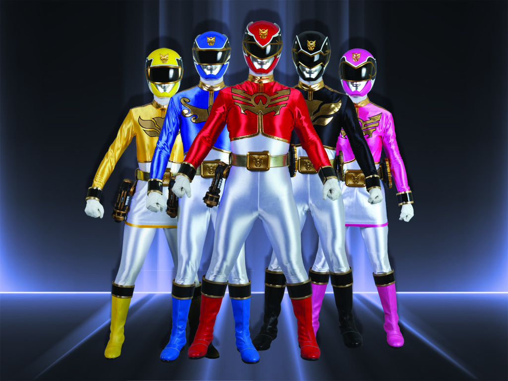 Power Rangers Megaforce|Do Gosei's five fearless recruits have the stuff to balance saving the world with passing high school English? Definitely.