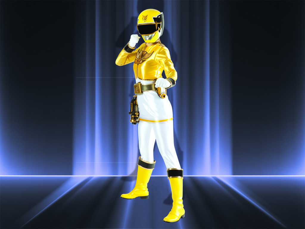 yellow power ranger megaforce-#main