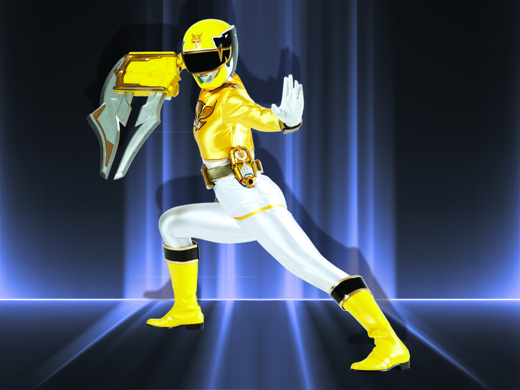 yellow power ranger megaforce - photo #3